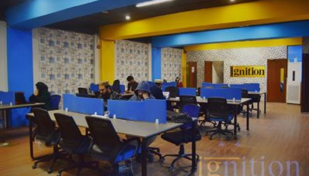 Shared coworking space